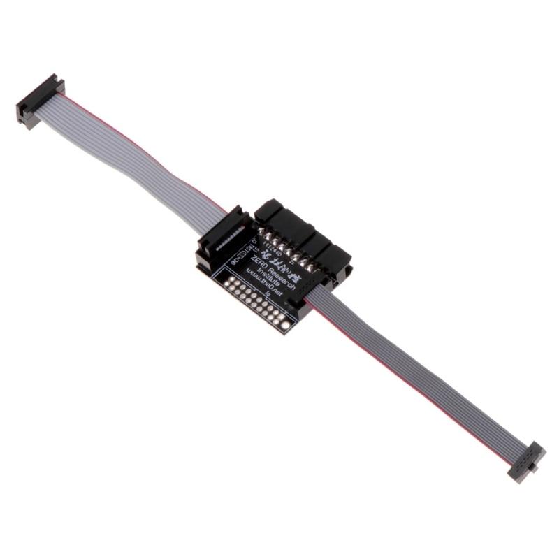 Placa adaptadora para 20P 2,54 Mm JTAG a 10P 2,0mm 1,27mm convertidor de interfaz SWD A5YD