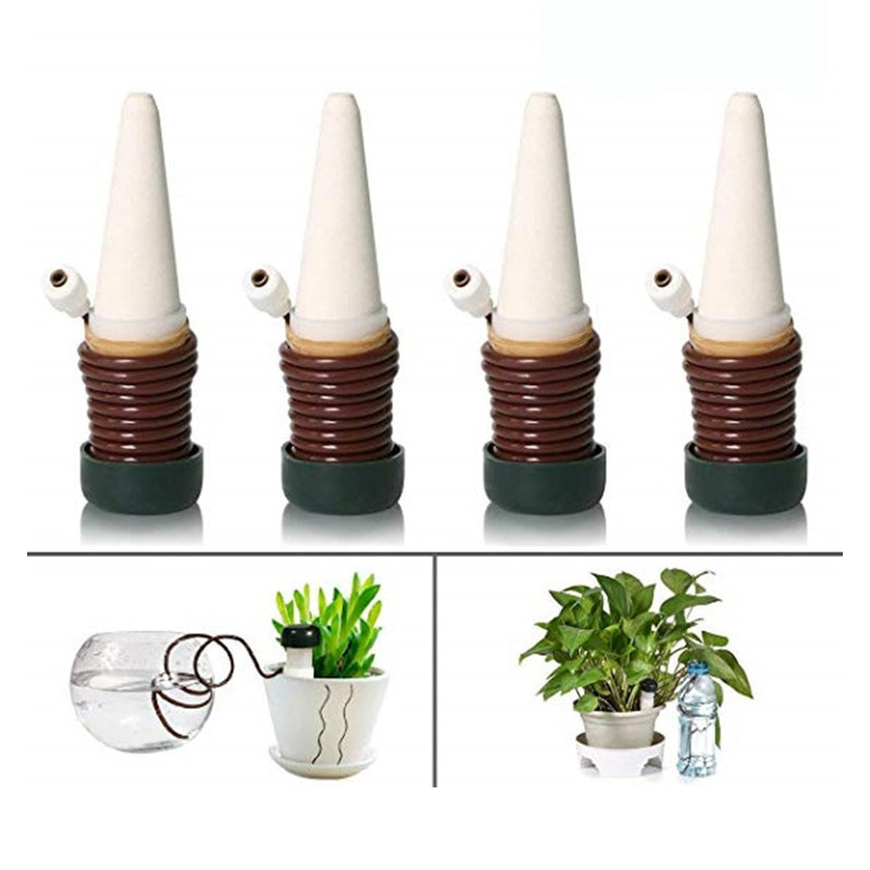 Classic Plant Watering Stakes for Everyday Home or Vacation Use Indoor Outdoor Water Spikes for Plants Automatic Drip Irrigation