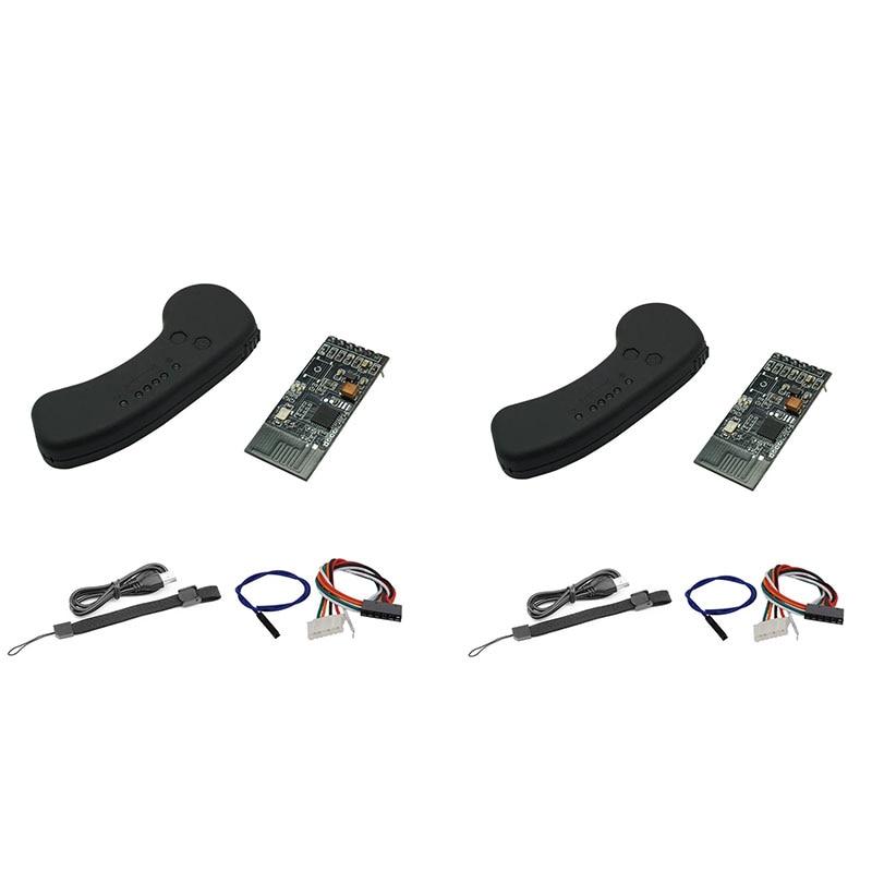 Vx1 2.4Ghz Remote Control Transmitter With Receiver For Electric Skateboard Single V4 V6 Rc Car Boat E-Bike Robot