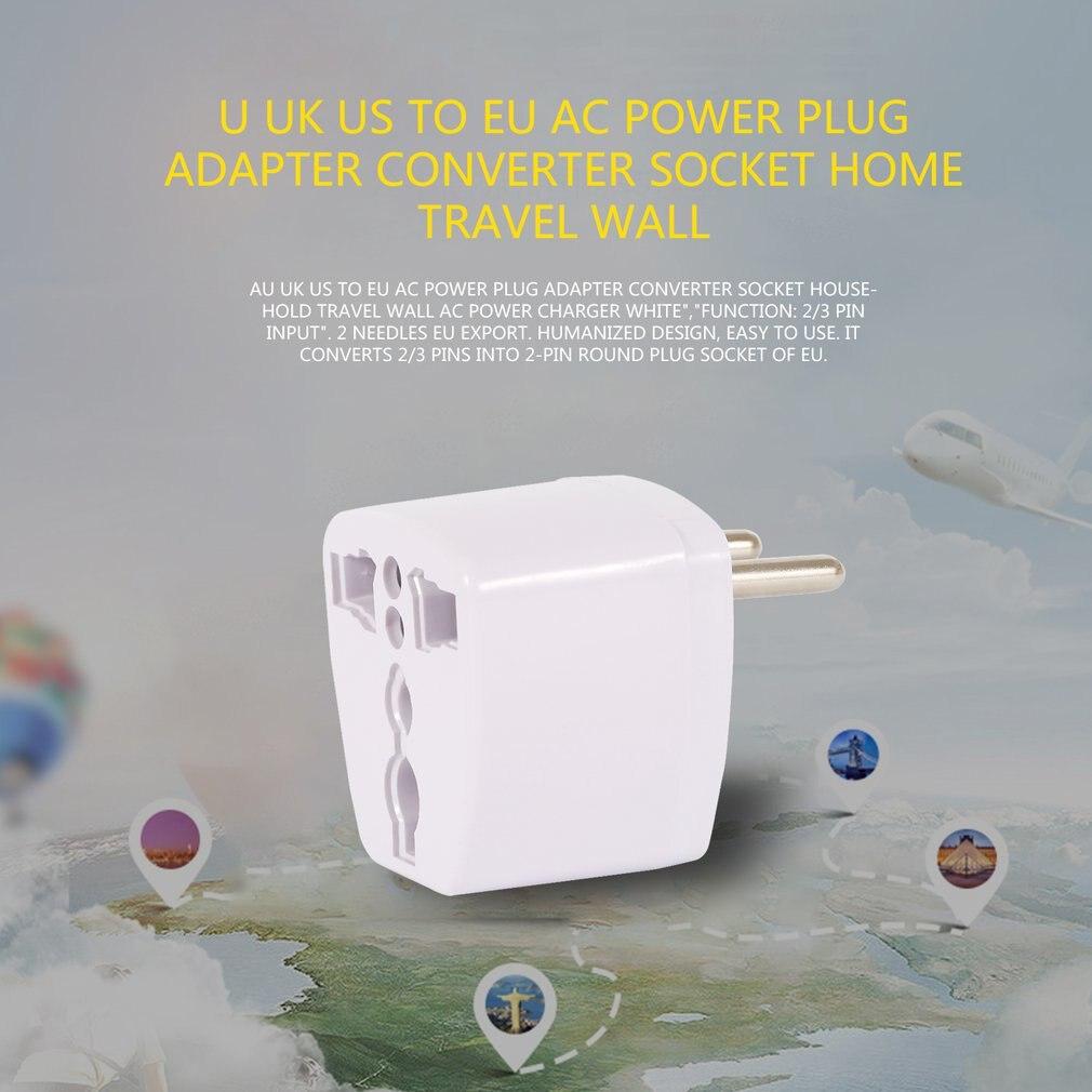 Adaptador de enchufe de CA Universal, convertidor de salida para viaje en...
