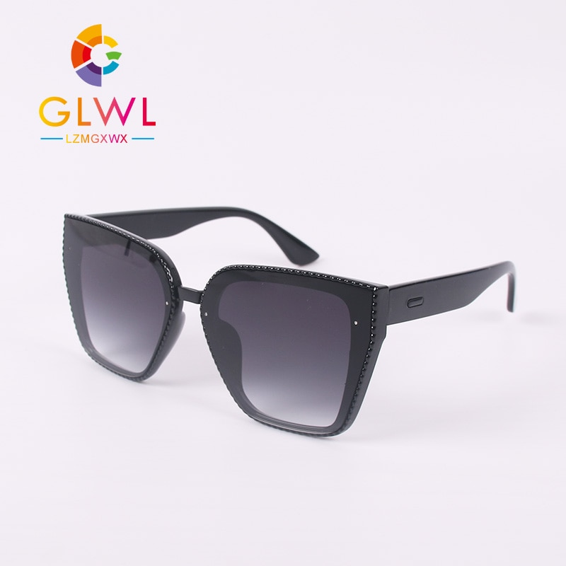 Óculos de Sol Mulheres Olho de Gato do vintage Óculos Quadro de Grandes Dimensões Mulher Sunglases Senhoras Rosa Designer de Condução Óculos oculos de sol gafas