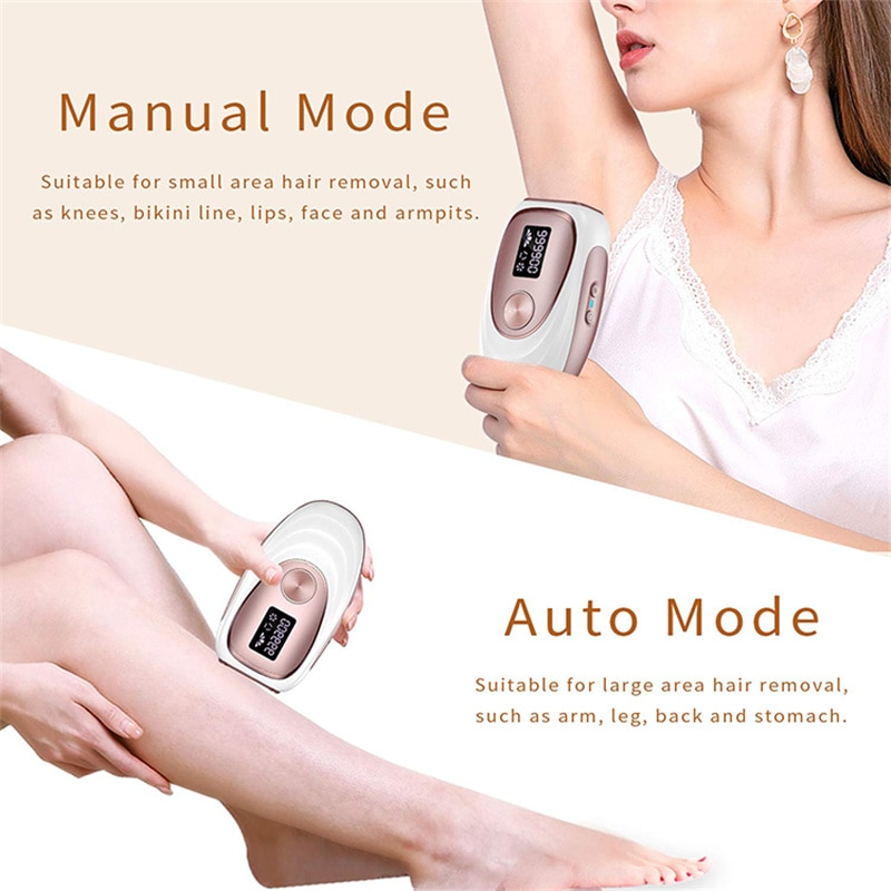 IPL Electric Laser Epilator for Women Hair Removal Permanently Epilator Hair Remover Face Body Rechargeable Hair Remover Device enlarge