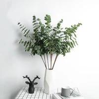 nordic style simulation eucalyptus leaf rattan plant artificial flowers plants ornaments wedding home decoration