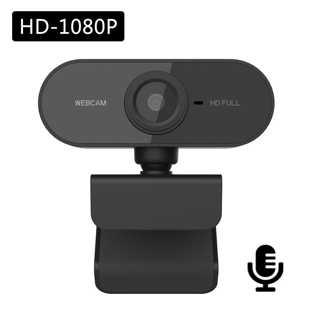 كاميرا ويب عالية الدقة 1080 بكسل ، USB ، لألعاب الفيديو ، الكمبيوتر المحمول ، الكمبيوتر ، مع ميكروفون مدمج ، لكاميرا Youtube