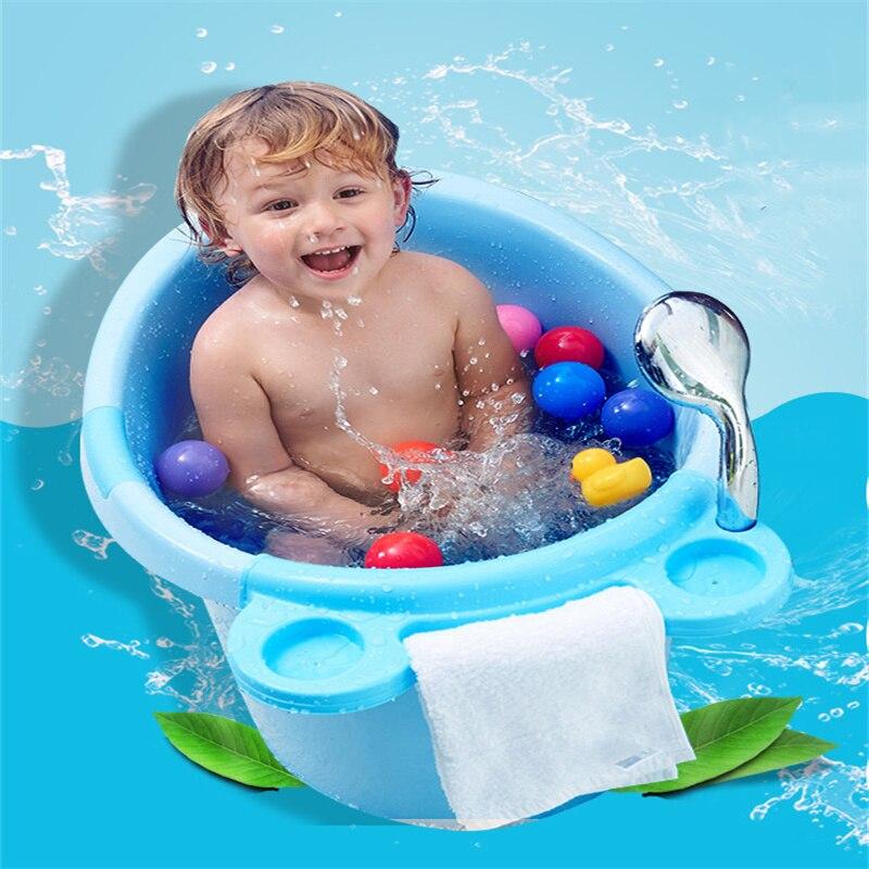 2021 Newest  Large Children's Bath Tub     Thicken the Bathtub    Bath Barrel