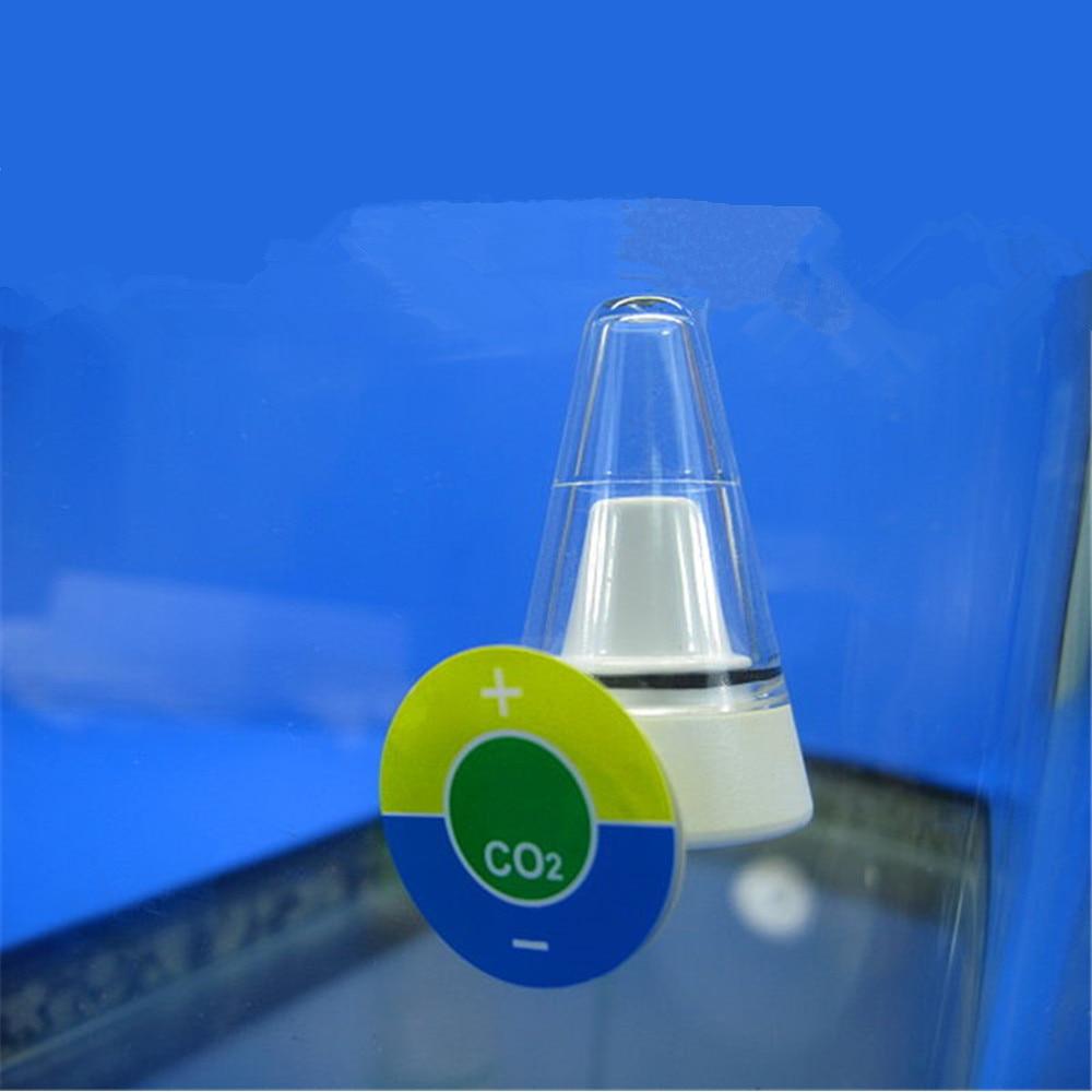 Aquarium CO2 Indicator Drop Checker All Angle View Monitor Test CO2 Tester Plant CO2 Diffuser