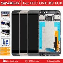 """5.0 """"écran LCD dorigine pour HTC ONE M9 écran daffichage avec cadre Test tactile numériseur assemblée pour HTC One M9 M9E M9W affichage"""
