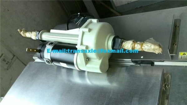24V 600W electric traction motor for electric mobility scooter enlarge