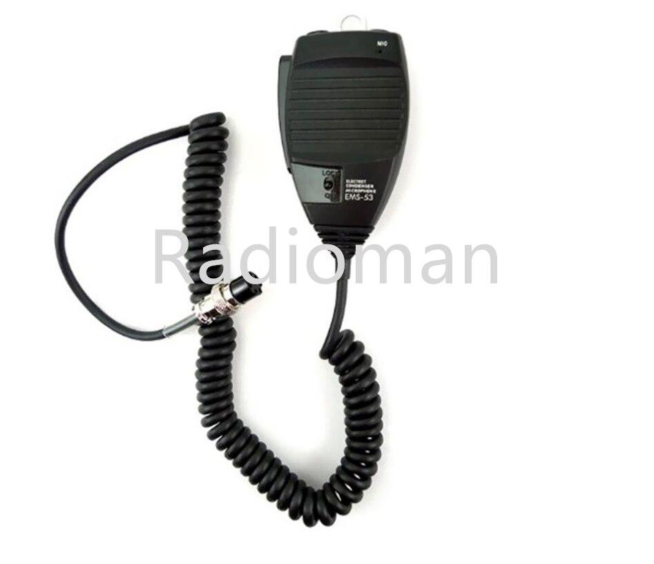 EMS-53 8pin يده ميكروفون ل Alinco DR620 DR635 DR430 DR435 DR135 الدكتور-03 DR-06 DR145 DR235 راديو المحمول
