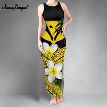 Noisydesigns Bodycon Prom Dresses Fashion Women 2021 Summer Elegant Boho Hawaiian Floral Sexy Dress