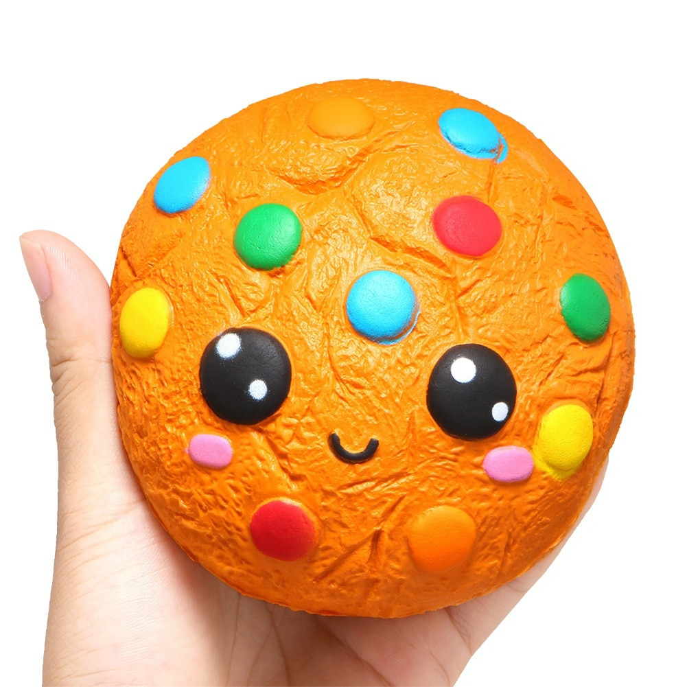 Cartoon Squishys Chocolate Cookie Scented Slow Rising Kids Stress Relief Toys Stress Relief Soft Squeeze Toys Fun for Child Toy enlarge