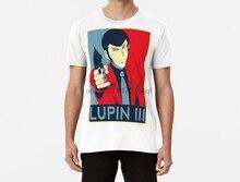 Мужская Funy футболка Lupin III футболки для женщин и мужчин футболка (2)