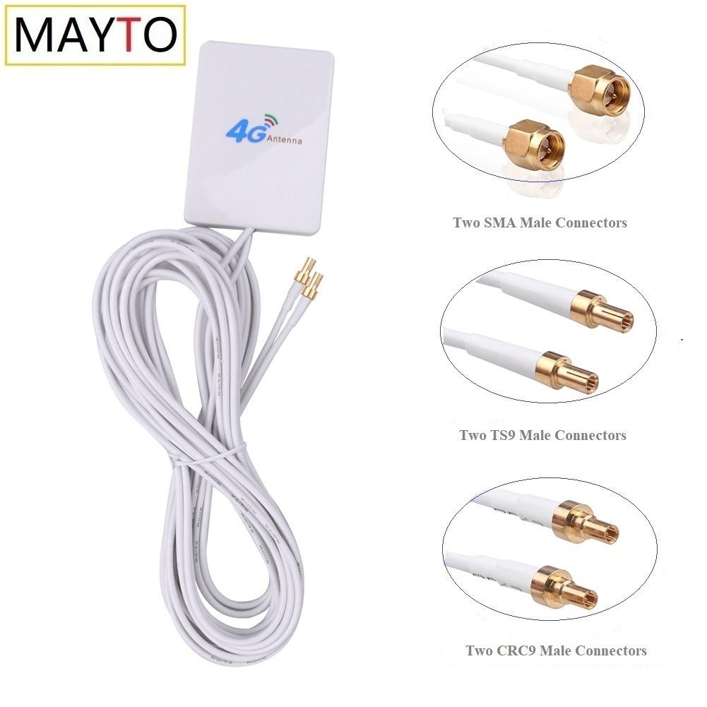 Антенна 3G 4G LTE SAM CRC9 TS9, Коннектор 4G LTE, маршрутизатор Антенна 3G, внешняя антенна с кабельным модемом 3 м