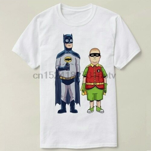Camiseta de algodón de manga corta de King of Hill Robin Bobby Hill para hombre y mujer