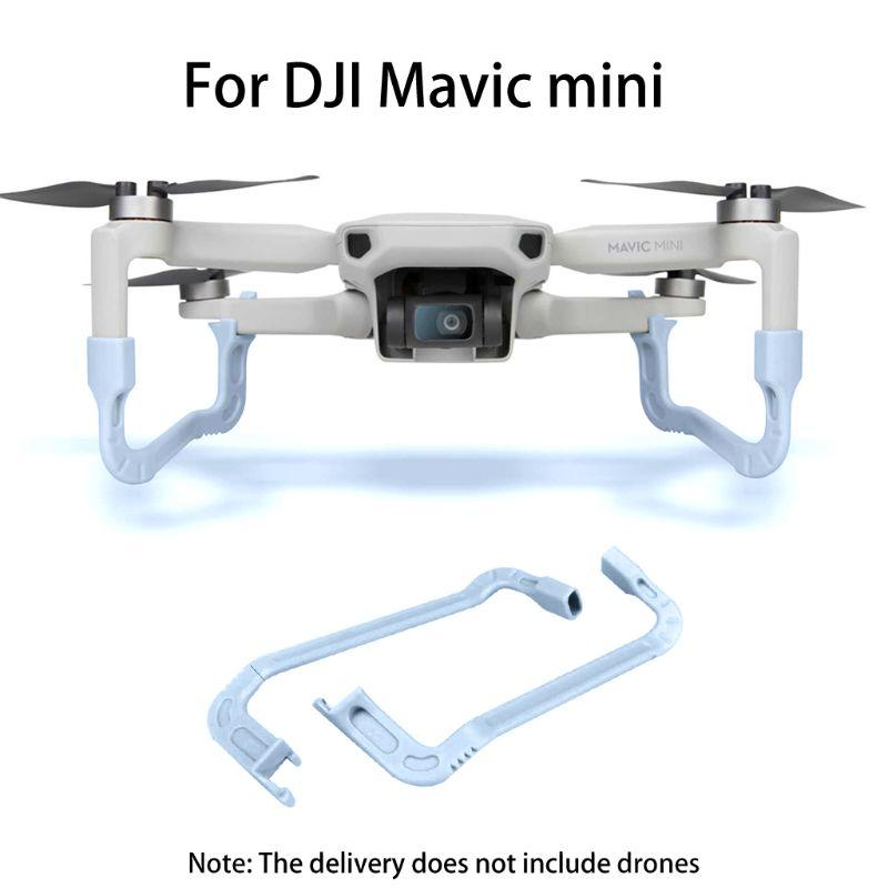 1 Juego de Kits de tren de aterrizaje extensor de altura de seguridad para DJI Mavic Mini Drone accesorio 95AF