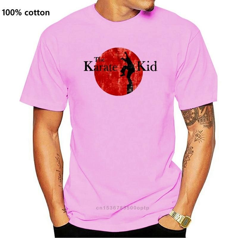New Summer 2021 Short Sleeve Plus Size Men T Shirt Summer Karate Kid T Shirt Mens Movie Daniel Laruso Mr Miyagi T Shirt
