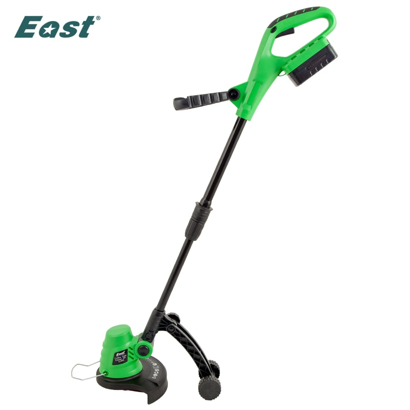 EAST Grass Trimmer 18V 1500mAh Electric Trimmer Power Garden Tools 23cm Cutting Diameter ET1101 Telescopic Pole Lawnmower