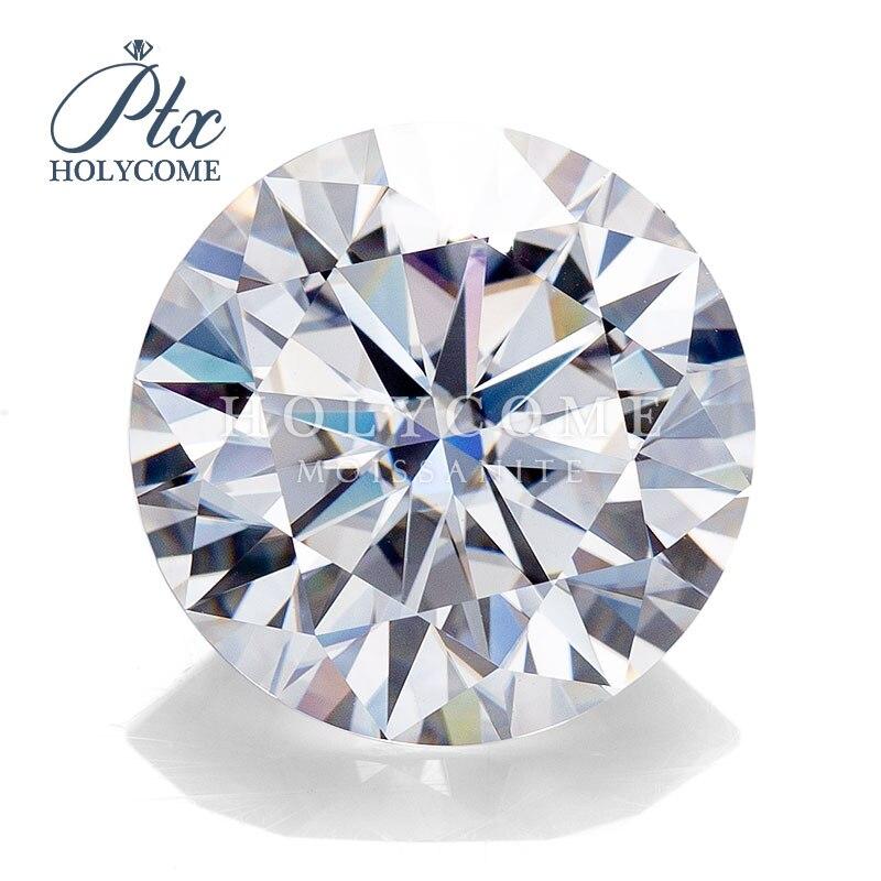 Gran oferta 2020 de diamante moissanite D color 4mm 0.3ct corte redondo para joyería pendientes collar pulsera de la señora de la caída de la ropa