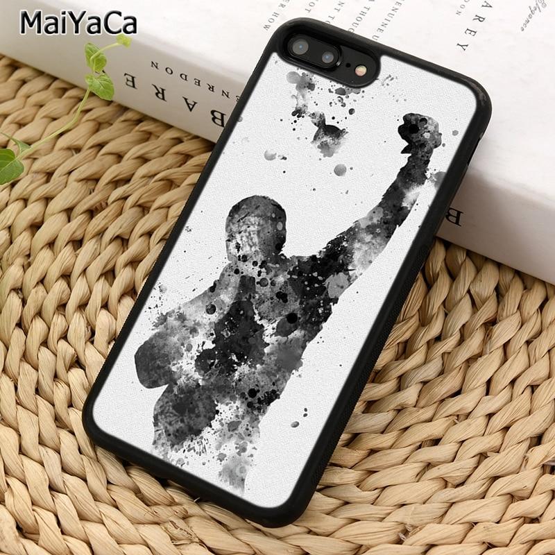 Maiyaca Rocky Balboa Movie Quotes Telefoon Case Voor Iphone X Xr Xs 11 Pro Max 5 6 6 S 7 8 Plus Samsung Galaxy S5 S6 S7edge S8 S9 S10
