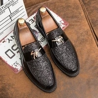 gentleman men casual shoes personality oxford formal light wear resistant luxurious mens non slip party fashion new 2021
