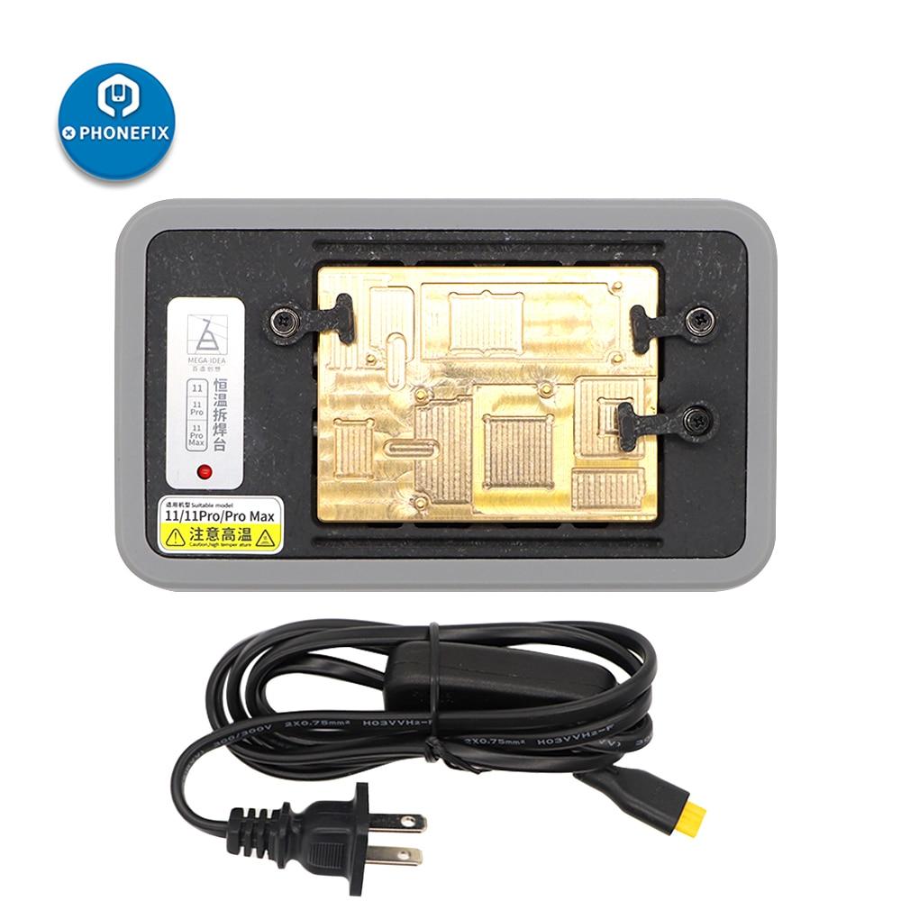 Qianli Mega-IDEA 3 IN 1 Pre-Heating Station Desoldering Platform for IPhone11 Pro Max X Xs Max Motherboard Teardown Glue Removal