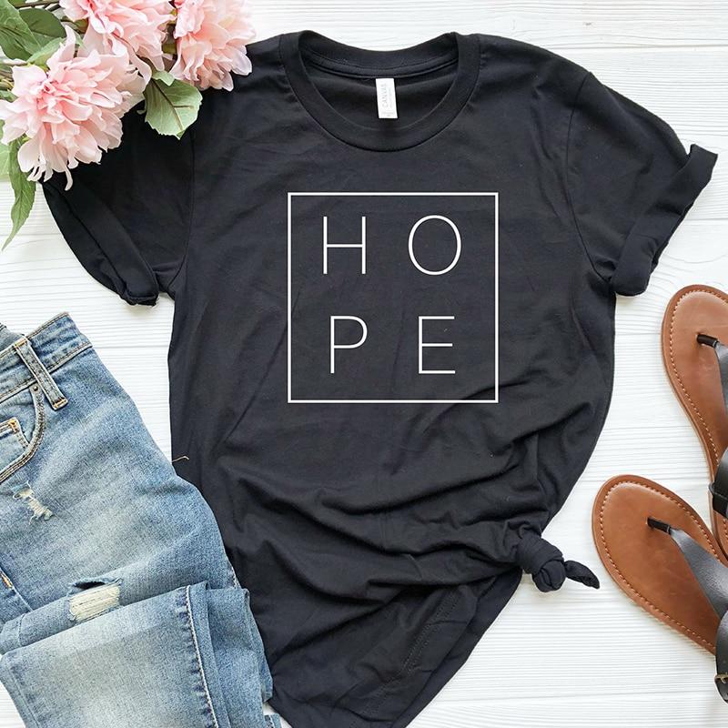 Summer Women T Shirt Faith Hope Love Christian T-shirt Funny Christianity God Tee Gift Woman Short Sleeve Cotton Tops Drop