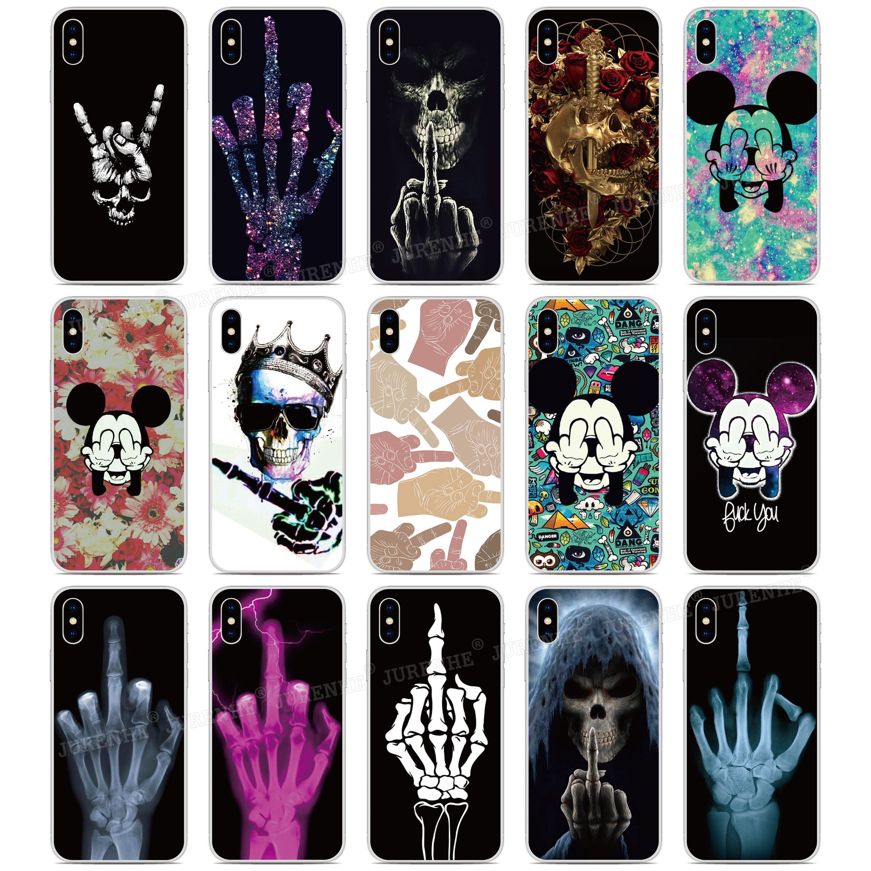 Imprimir 2019 Funda medio silicona para dedos cubierta de teléfono de TPU suave para LG K50s K40s K20 K30 K40 K50 Q60 X2 G8X G8S ThinQ W10 W30 cubierta