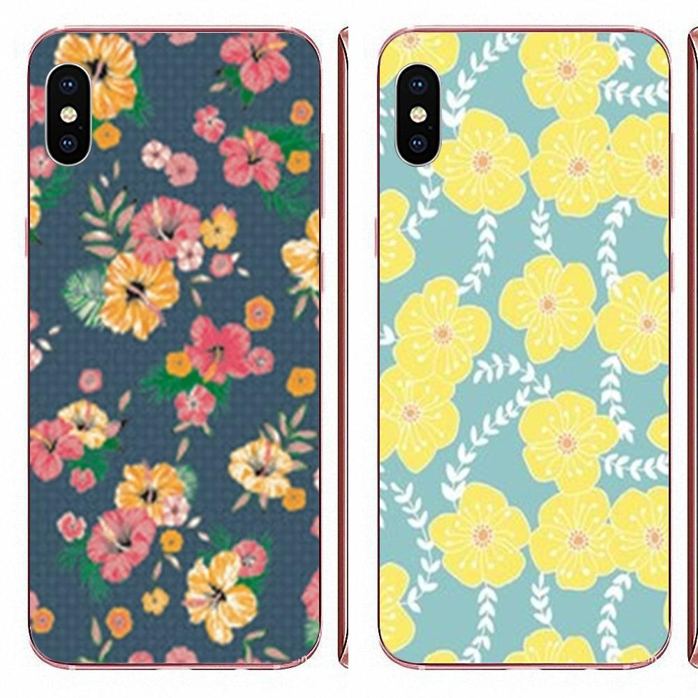 Tropical Hawaiian Flower For Huawei P7 P8 P9 P10 P20 P30 Lite Mini Plus Pro Y9 Prime P Smart Z 2018 2019 Soft TPU Bags Cases