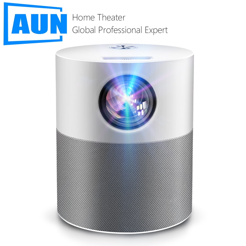 AUN Projector Full HD 1080p ET40 Android 9 Beamer LED Mini Projector 4k Decoding Video Projector for
