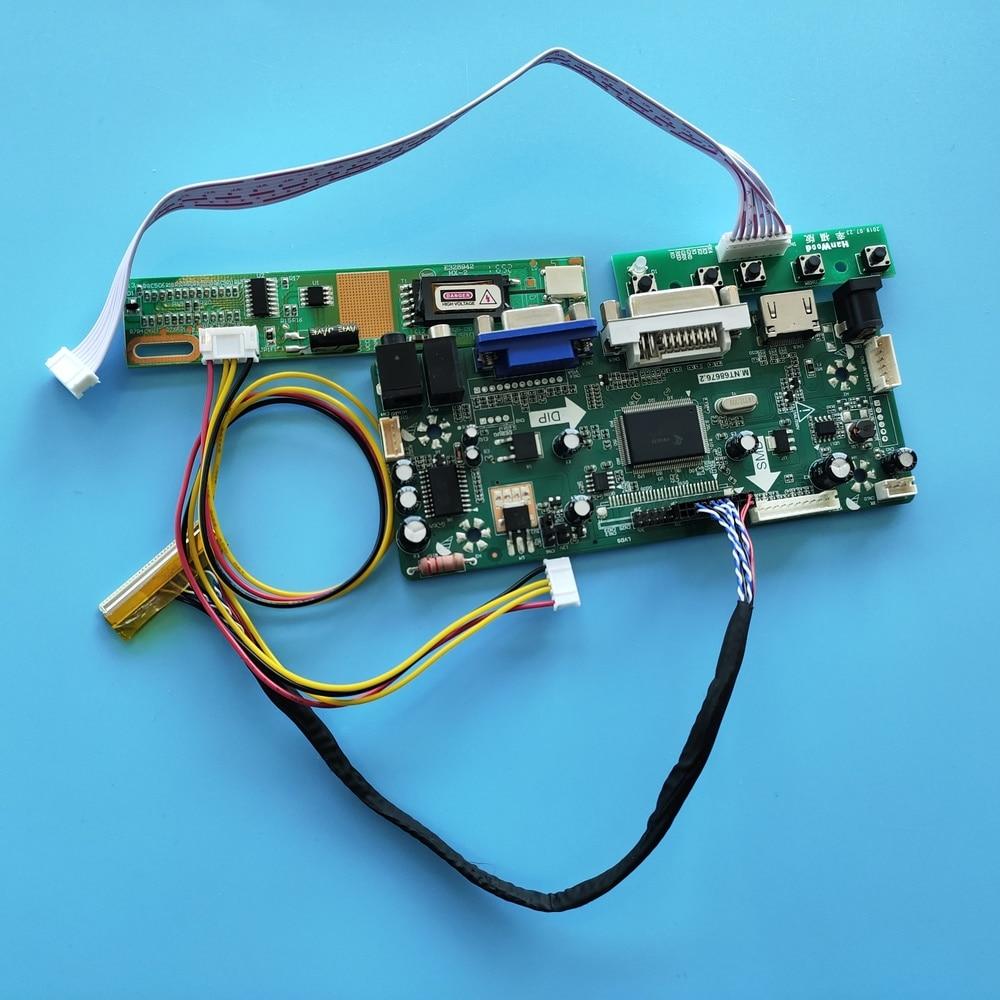 عدة ل LTN156AT01-D03/H01/S01/S02/S03/T01/U01/V01/W01 وحدة تحكم Board1366x768 لوحة عرض الصوت HDMI + DVI + VGA LCD مراقب