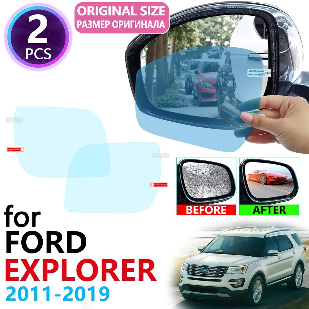 Ford Explorer U502 MK5 miroir arrière   Couverture complète, 2011 ~ 2019 Films Anti-brouillard, résistants à la pluie, Films Film antibrouillard, accessoires 2014 2016