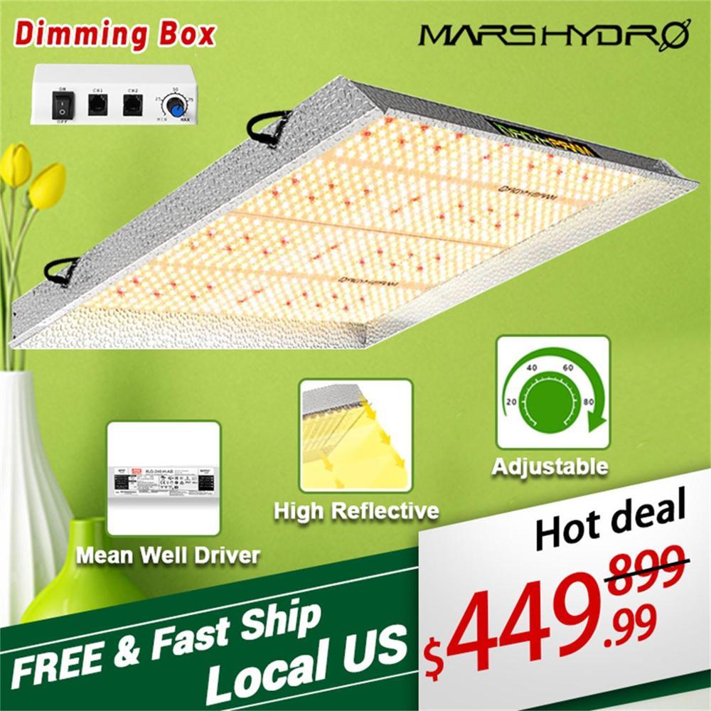 Mars Hydro TS 3000W Led Wachsen Licht Gesamte Spektrum Quanten Board Indoor Beleuchtung Wachsen Lampe Für Veg Blume Gewächshaus wachsen Zelt