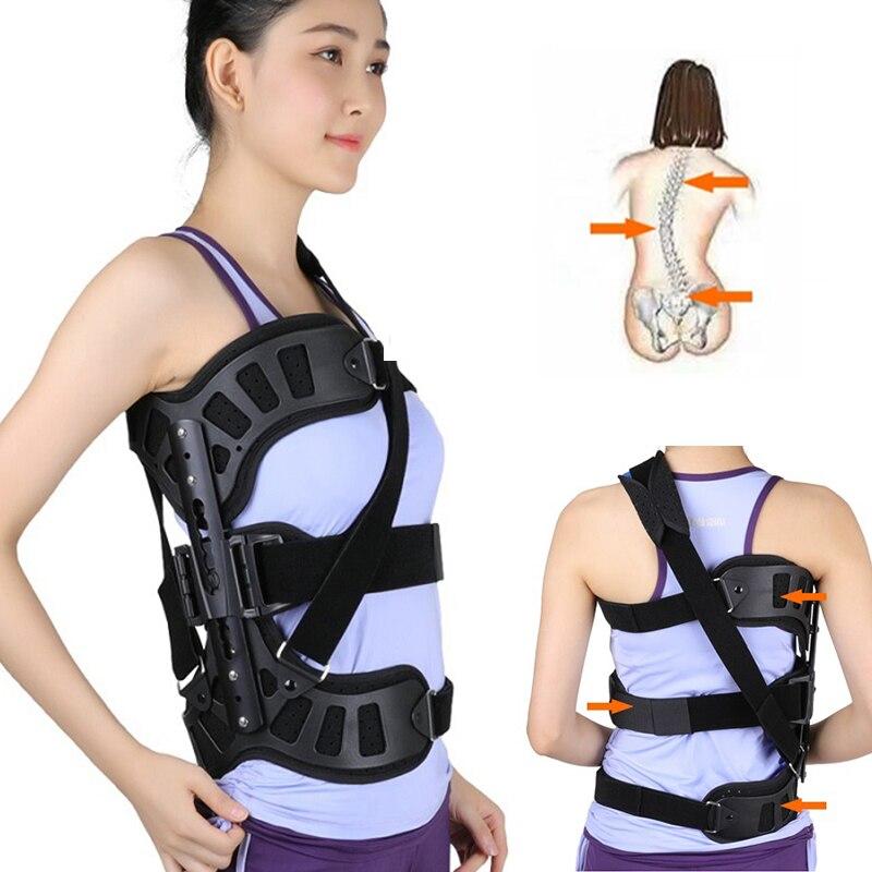 Orthèse auxiliaire de la colonne vertébrale correcteur de Posture de scoliose réglable pour la récupération postopératoire du dos adultes offre spéciale de soins de santé