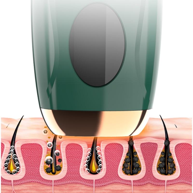Professionele Permanente Laser Epilator Pijnloos Photoepilator Ipl Haar Remover Apparaat Benen Bikini Arm Oksels Epilator Voor enlarge