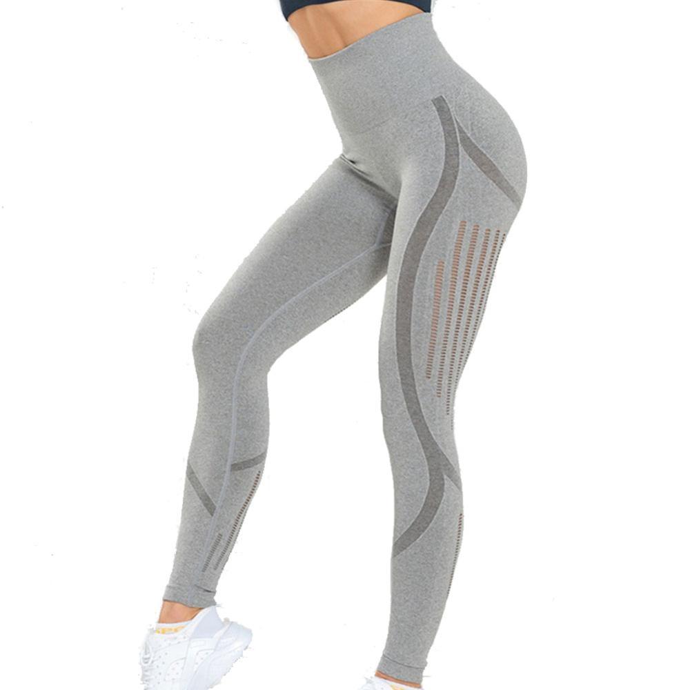 Gimnasio pantalones de Yoga Shark ropa deportiva para mujeres Control de barriga mallas con cintura alta mallas mujer Fitness sin costura Leggings ropa deportiva