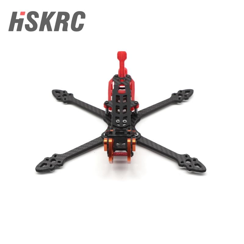 HSKRC Chameleon230 HD5 Carbon Fiber FPV Frame Kits 5mm Arm for FPV Air Unit Digital System FPV Racin