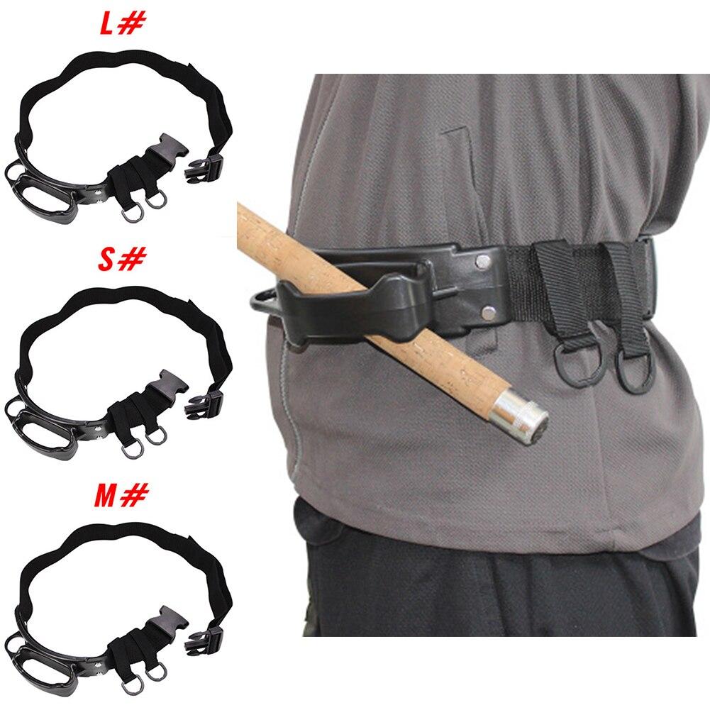 Cinturón de arnés de cintura de pesca en roca soporte de caña de pesca vientre Top auxiliar excelente mano de obra y larga vida útil