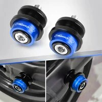 for bmw r1200r r 1200r 1200 r 2006 2014 2013 2012 2011 2010 motorcycle 8mm cnc aluminum swingarm spools stand screws slider