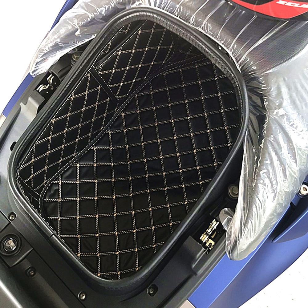 واقي بطانة صندوق الدراجة النارية من البولي يوريثان ، لملحقات kymco xcting s400