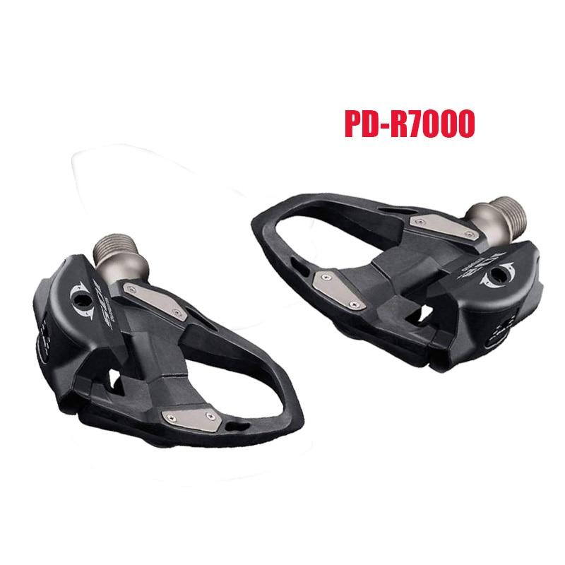 PD-R7000-Pedal de bicicleta de carretera, juego de tacos de plataforma individual con...