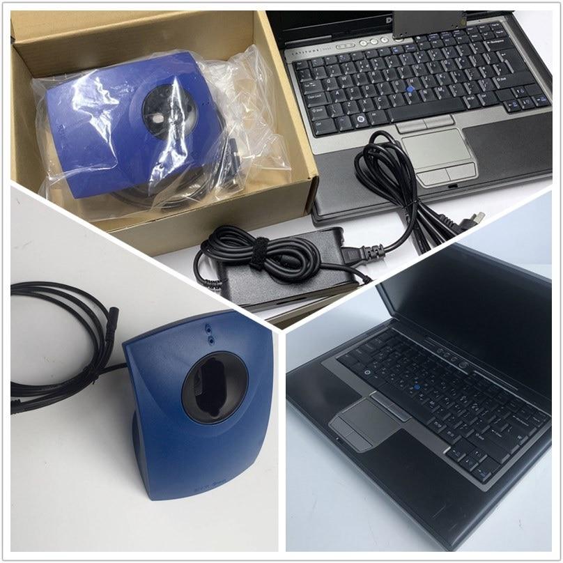 Lector de llaves B MW de alta calidad, programador de llaves automático, lector de llaves instalado en ordenador portátil D630 listo para usar