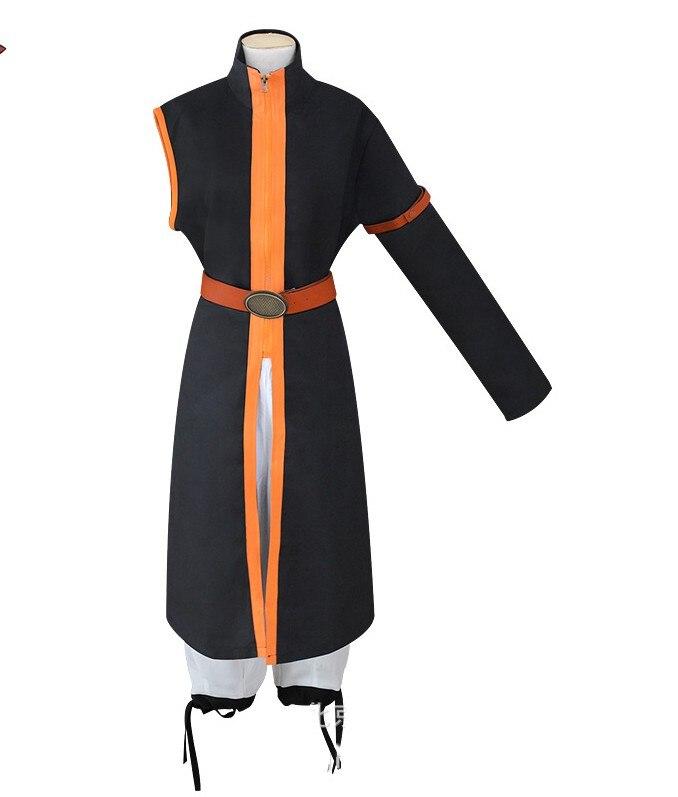 Abrigo de cola de hada japonés de Anime Etherious Natsu Dragneel para fiesta pelucas de Cosplay chaquetas de actuación de Halloween capas de capa