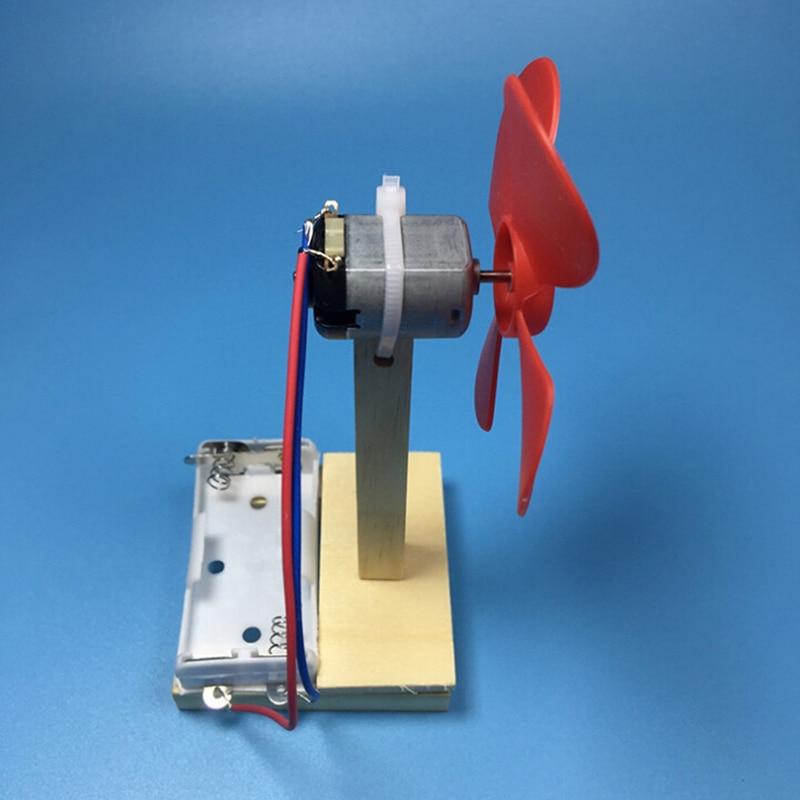 Сделай сам учебное руководство изобретение собранный электрический вентилятор