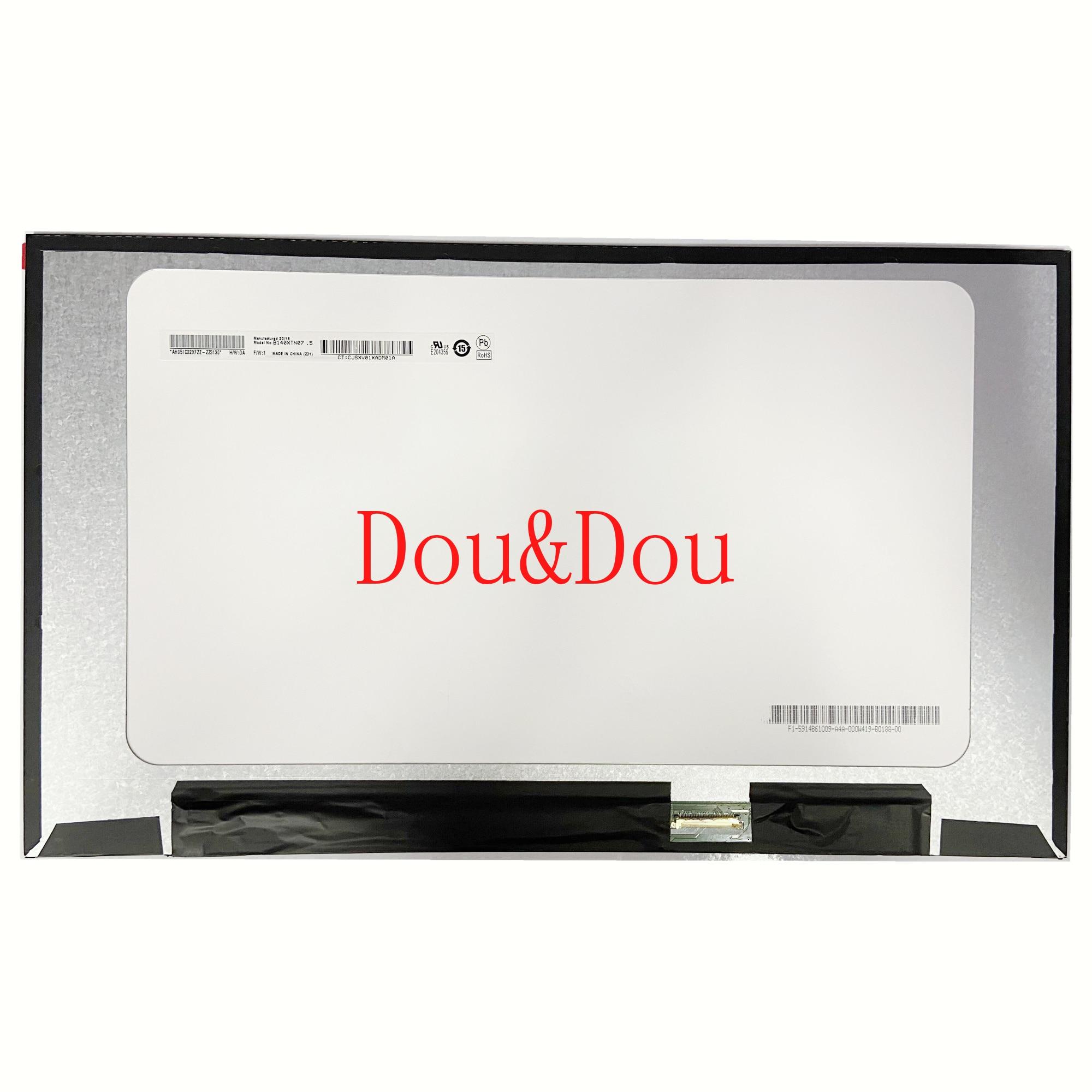 B140XTN07.5 صالح B140XTN07.4 شاشة LED LCD مع عدم وجود ثقوب المسمار 1366X768