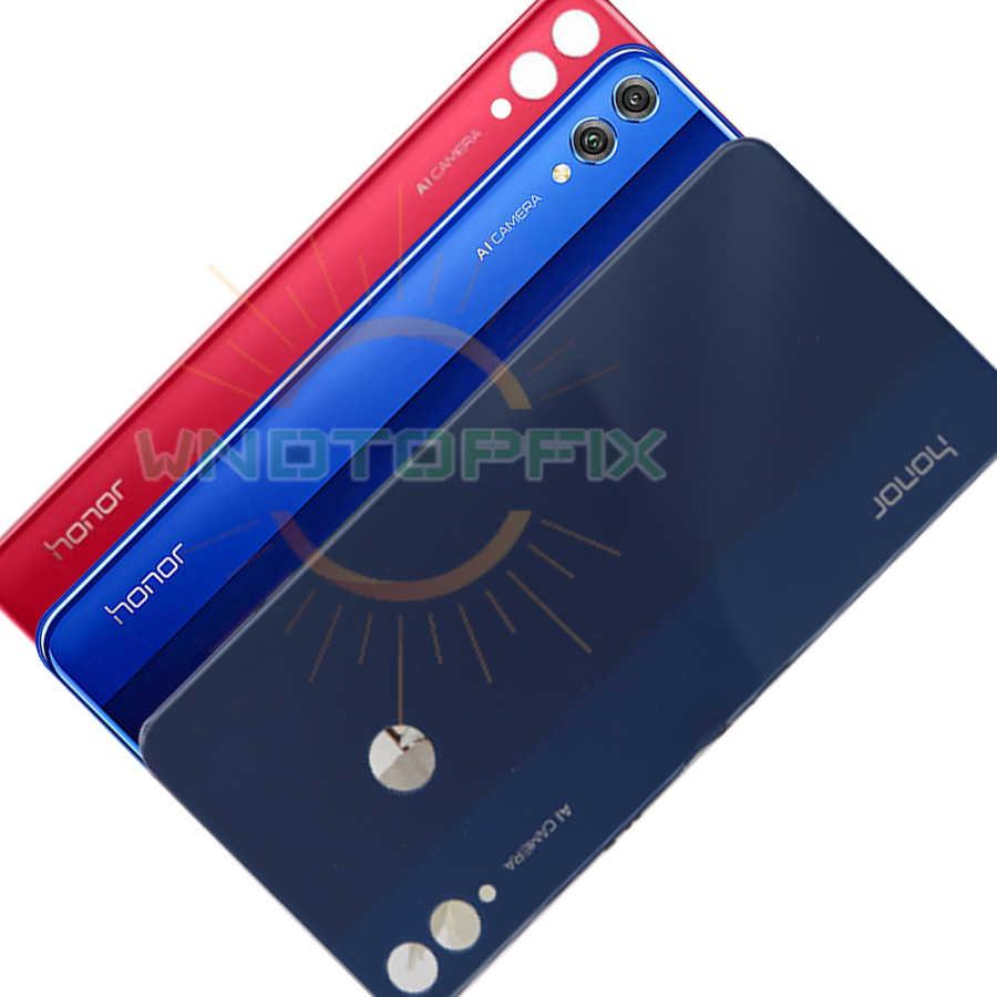 Para Huawei Honor 8x Bateria Capa Traseira De Vidro Da Porta Traseira Habitação Caso Painel Escudo Para Honor 8x Voltar Bateria Capa Com Câmera Lente Estojos De Celular Aliexpress