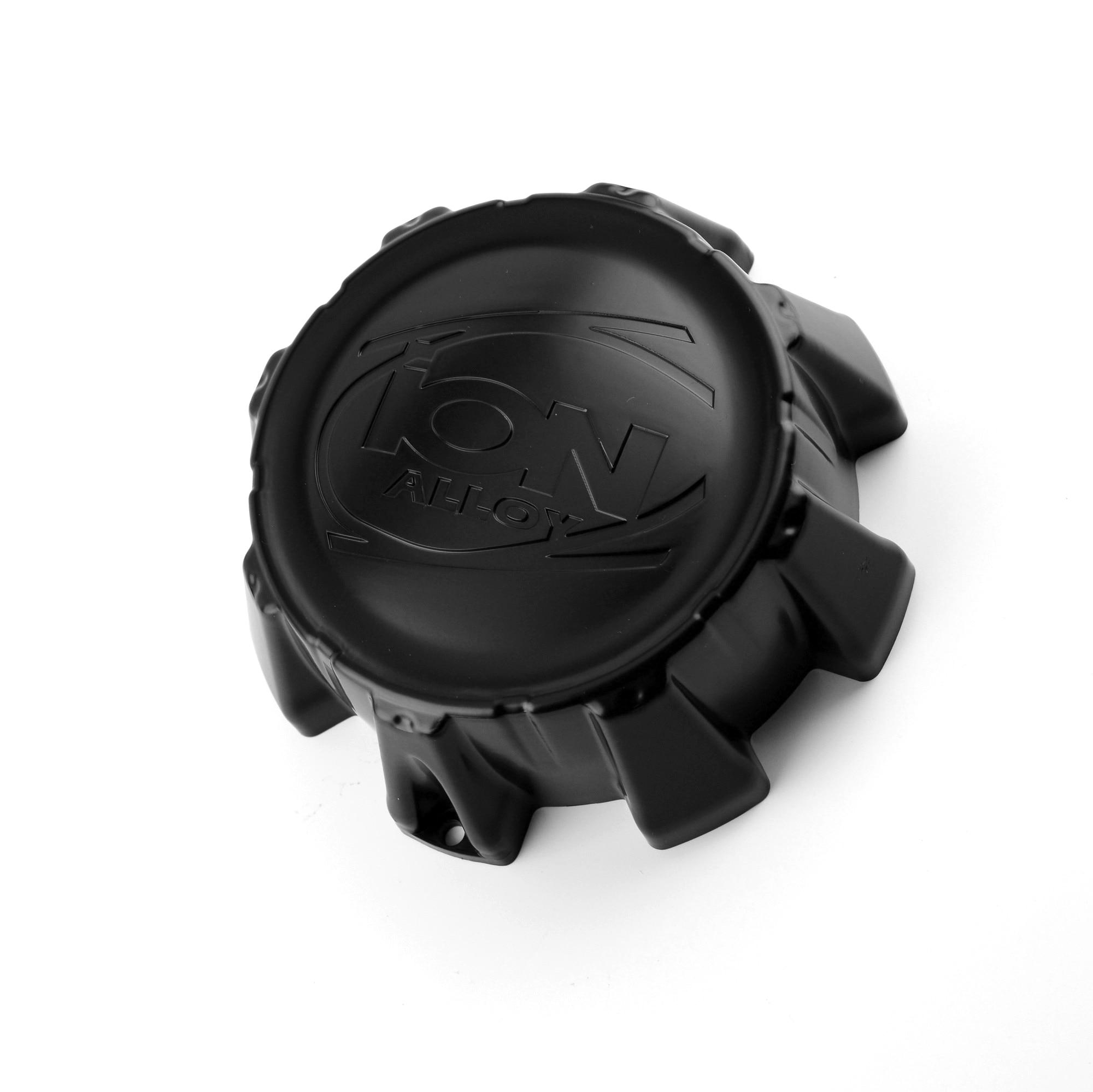 4 piezas 163mm de centro de la rueda tapas para Ion 179 Aleación de 2 ruedas terminal negra mate del coche de centro de la rueda accesorios para el coche C101714MB