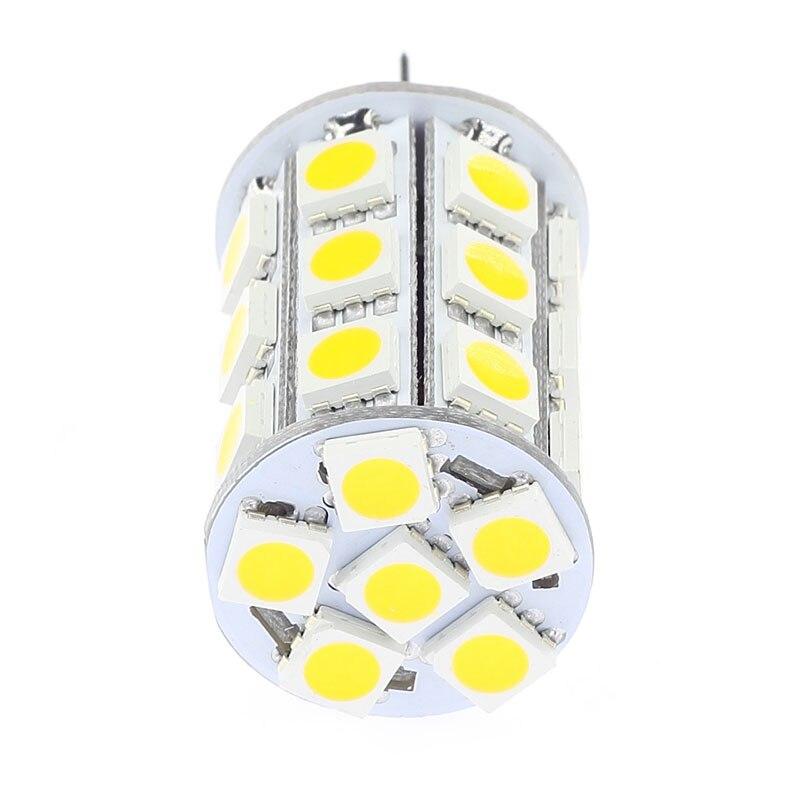 27Led Dimmable G4 lámpara de iluminación SMD 506012VAC/12VDC/24VDC barcos automóviles carros Camper bombilla 10 unids/lote