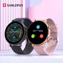 SANLEPUS 2021 Smart Watch Bluetooth Calls Men Women Waterproof Smartwatch ECG PPG Fitness Bracelet B