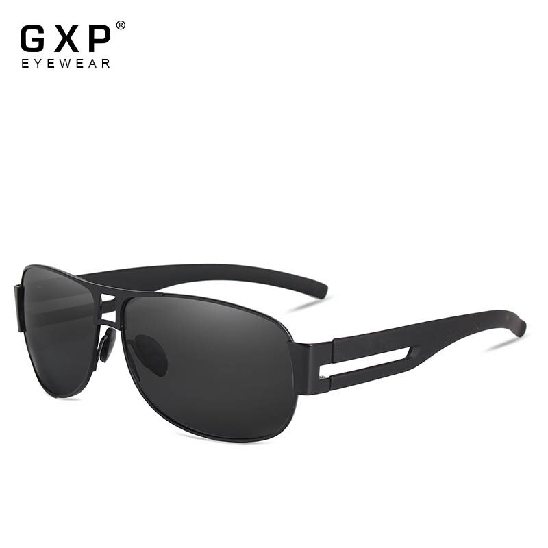 GXP Men Classic Brand Sunglasses Luxury Aluminum Polarized Sunglasses EMI Defending Coating Lens Mal