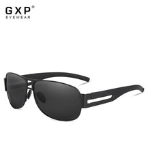 GXP Men Classic Brand Sunglasses Luxury Aluminum Polarized Sunglasses EMI Defending Coating Lens Mal